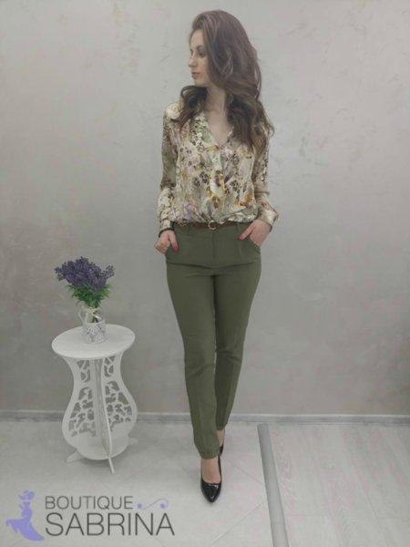 Дамска флорална риза